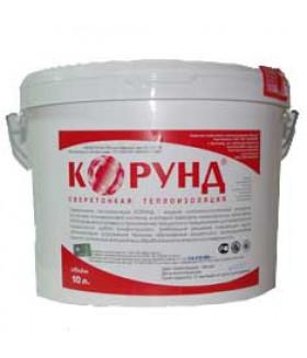 Жидкая керамическая теплоизоляция Корунд Классик (краска, утеплитель, покрытие) 10л