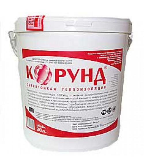 Жидкая керамическая теплоизоляция Корунд Классик (краска, утеплитель, покрытие) 20л