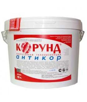 Жидкая керамическая теплоизоляция Корунд Антикор (краска, утеплитель, покрытие) 10л